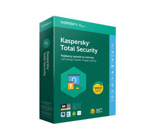 Kaspersky Total Security Licencja nowa kontynuacja