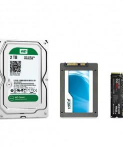 Wymiana / dodanie dysku twardego HDD / SSD / M2 PC