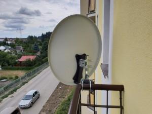 ustawianie anten montaż na balkonie siedlce